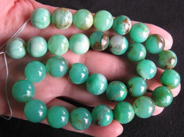 Chrysoprase Beads Australia online
