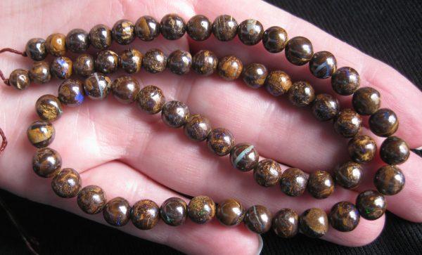 Opal Boulder Beads Australia online