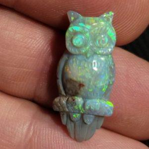 Opal Carvings